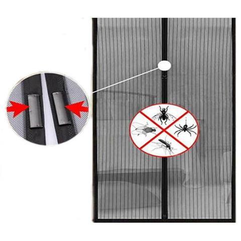 Imagem de Cortina Mosquiteiro Para Insetos e Mosquitos Com Tela Protetora Magic Mesh (Bsl-mosq-1)