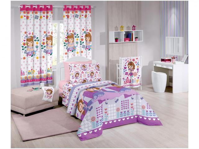 Imagem de Cortina para Quarto Infantil Santista Disney