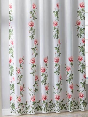 Imagem de Cortina Para Sala Estampada 2,20x2,40cm Fedora Sultan