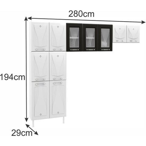 Imagem de Cozinha Compacta 3 Peças Star Telasul
