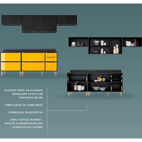 Imagem de Cozinha Compacta C/ Tampo New York Multimóveis.