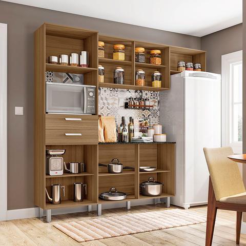 Imagem de Cozinha Compacta com Tampo 4 Peças Lia  Poliman