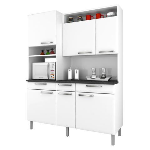 Imagem de Cozinha Compacta Itatiaia Regina em Aço - Branca
