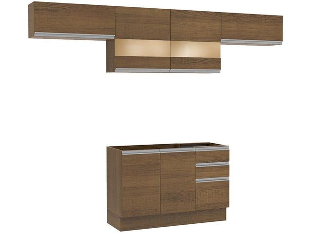 Imagem de Cozinha Compacta Madesa Glamy GRGL2800015Z