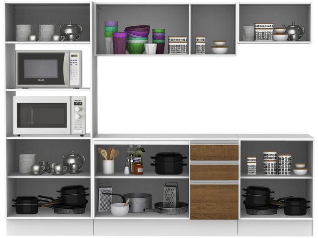 Imagem de Cozinha Compacta Madesa Smart G20073097G