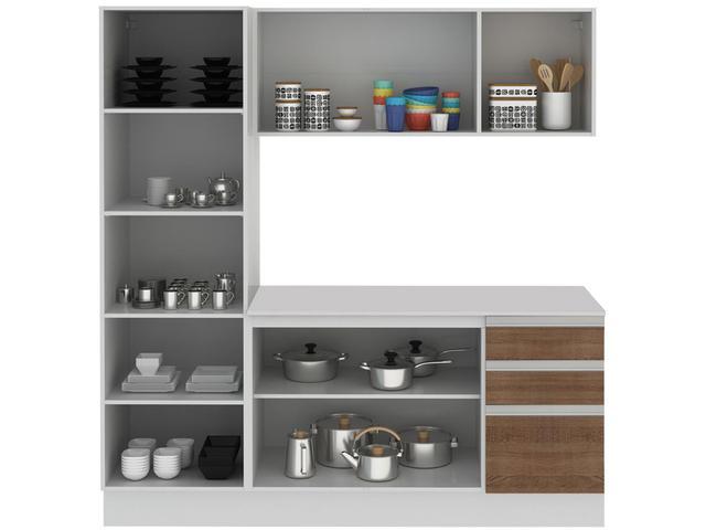 Imagem de Cozinha Compacta Madesa Smart G20075097G