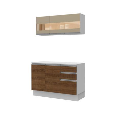 Imagem de Cozinha Compacta Madesa Smart Modulada Com Balcão e Tampo 100 MDF