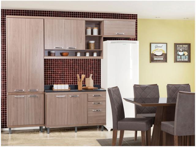 Imagem de Cozinha Compacta Multimóveis Linea Sicília