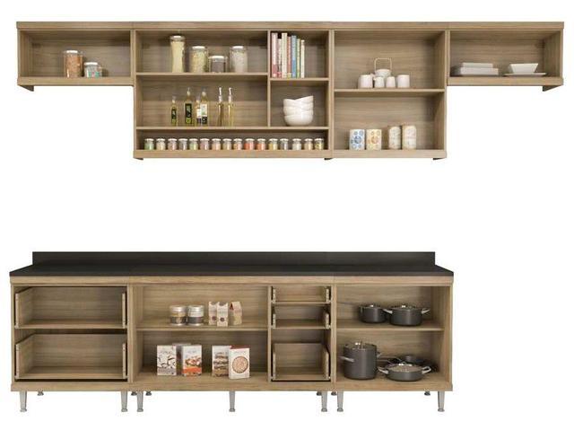 Imagem de Cozinha Compacta Multimóveis Sicília 5805