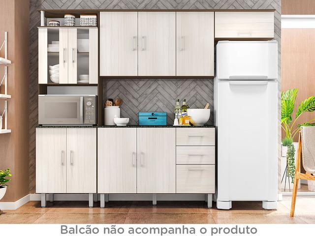 Imagem de Cozinha Compacta Poliman Móveis Berna