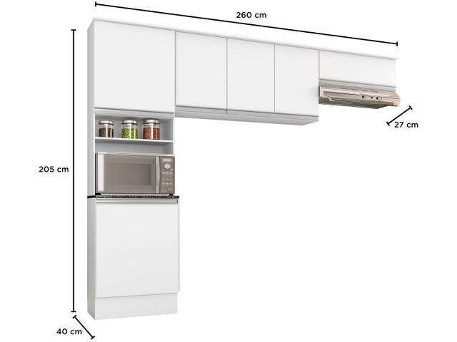Imagem de Cozinha Compacta Poliman Paris