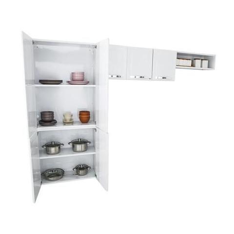 Imagem de Cozinha Compacta Rose 7 Portas Aço Branco - Itatiaia