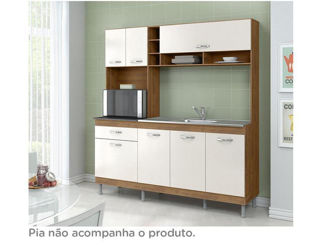 Imagem de Cozinha Compacta Somopar New Carol com Balcão
