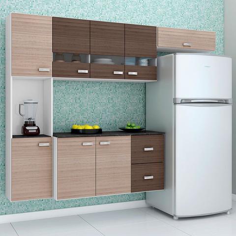 Imagem de Cozinha Compacta Suspensa Julia 4 Peças - Poquema