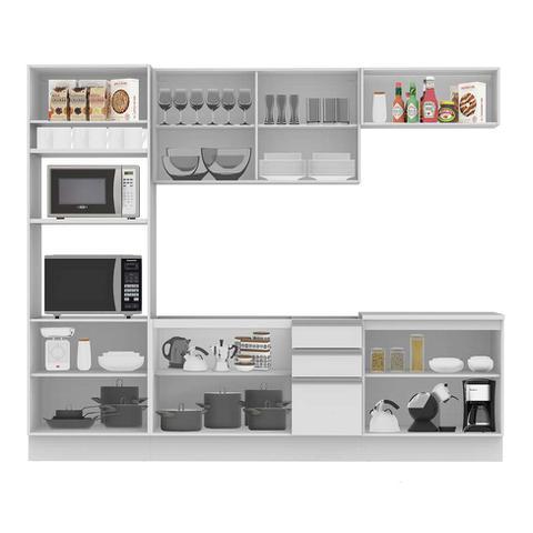 Imagem de Cozinha Completa Glamy 10 PT 3 GV Branca