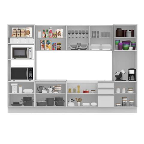 Imagem de Cozinha Completa Glamy 14 PT 3 GV Branca