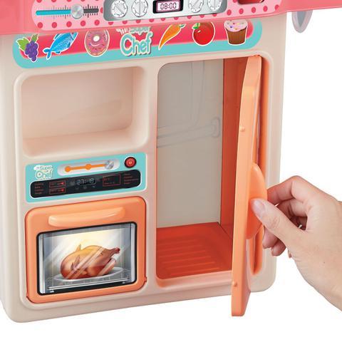 Imagem de Cozinha Completa Infantil Com Som E Fumaça - 28 Peças