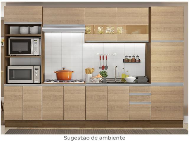 Imagem de Cozinha Completa Madesa Glamy Roma com Balcão