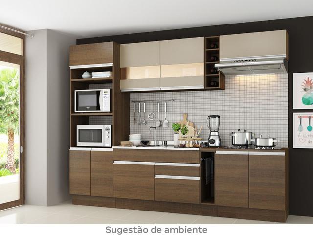 Imagem de Cozinha Completa Madesa Glamy Vicenza