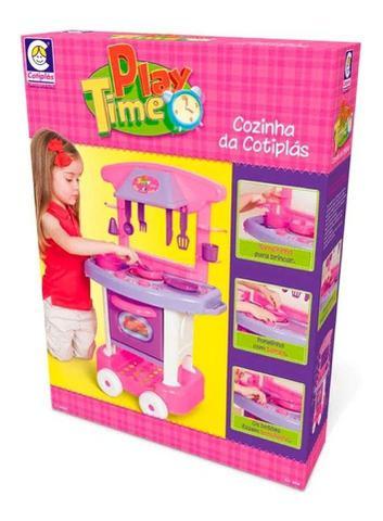 Imagem de Cozinha De Brinquedo Infantil Play Time Menina Cotiplás