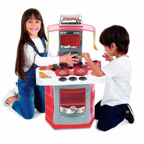 Imagem de Cozinha Infantil Bigstar Sai Água C/ Interação Digital