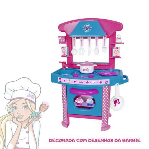 Imagem de Cozinha infantil brinquedo barbie cheff
