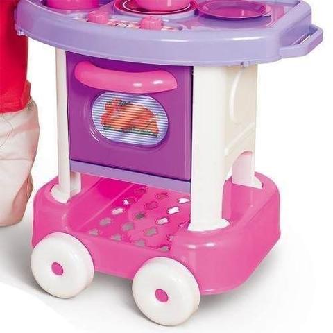 Imagem de Cozinha infantil com acessórios play time - cotiplás