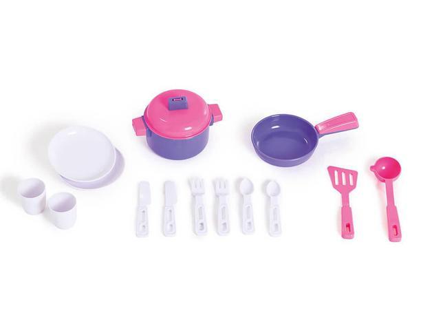 Imagem de Cozinha Infantil Com Rodas Riva Chef Completa Calesita