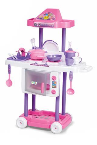 Imagem de Cozinha Infantil Com Rodas Riva Chef Completa - Tateti 1302