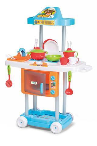 Imagem de Cozinha Infantil Com Rodas Riva Mr Chef - Tateti
