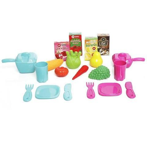 Imagem de Cozinha Infantil Fogão Geladeira Pia Mobility Chef Calesita