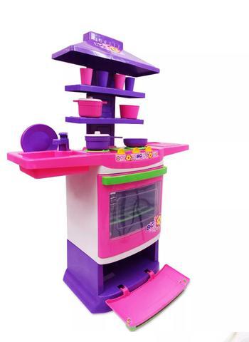 Imagem de Cozinha infantil master fogao bigchef poliplac