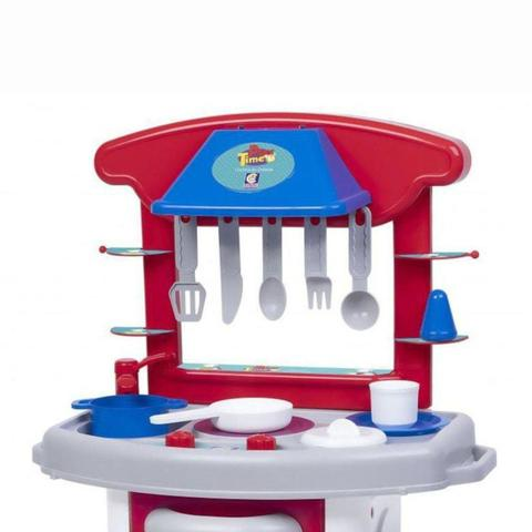 Imagem de Cozinha Infantil Menino Play Time Vermelha - Cotiplás 2421