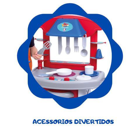 Imagem de Cozinha infantil play time colorida menino