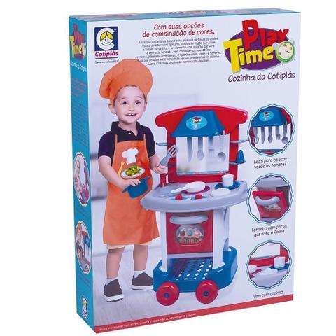Imagem de Cozinha Infantil Play Time Menino - Cotiplás