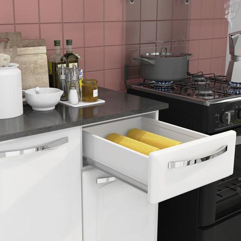 Imagem de Cozinha Itatiaia Amanda Compacta 4 Pecas Branco Nevadas