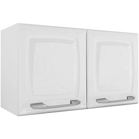 Imagem de Cozinha Itatiaia Criativa Compacta 4 Pecas Branco Paneleiro Armario Aereo 3 Vidros Gabinete