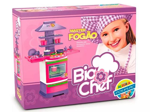 Imagem de Cozinha Master Fogão Big Chef Poliplac