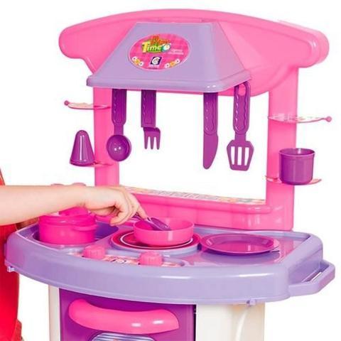 Imagem de Cozinha Play Time Forno Fogão E Pia Cotiplas Brinquedos 66cm