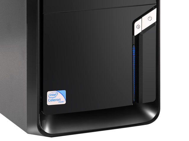 Imagem de CPU Megaware c/ Intel  Celeron Dual Core 2,4 GHz