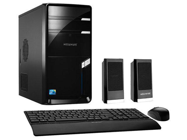 Imagem de CPU Megaware c/ Intel  Core 2 Duo