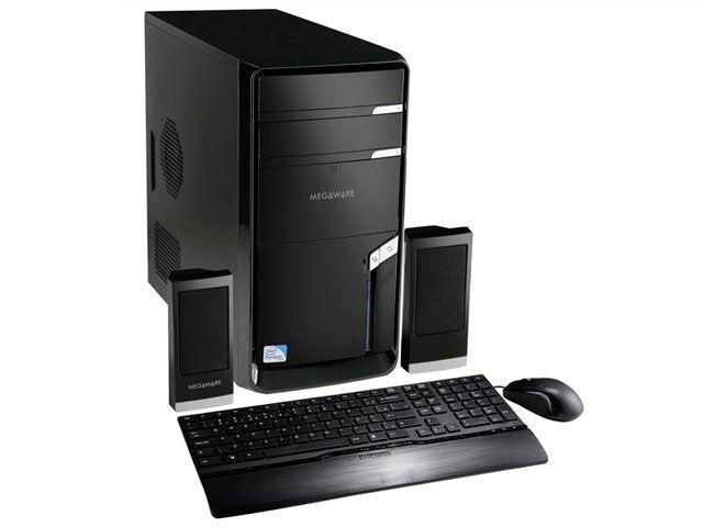 Imagem de CPU Megaware c/ Intel Pentium Dual Core