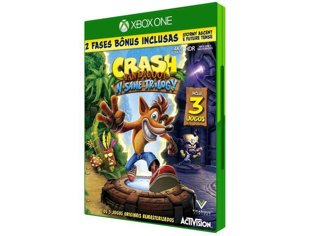 Imagem de Crash Bandicoot NSane Trilogy para Xbox One