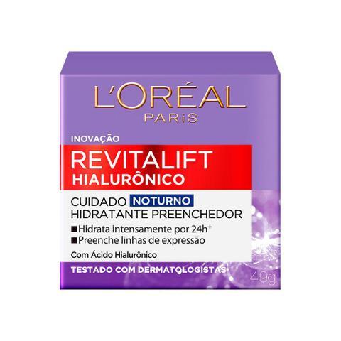 Imagem de Creme Anti-idade L'Oréal Paris - Revitalift Hialurônico Noturno