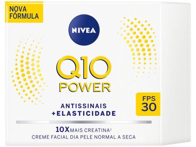 Imagem de Creme Antissinais Facial Diurno Nivea Q10 Power