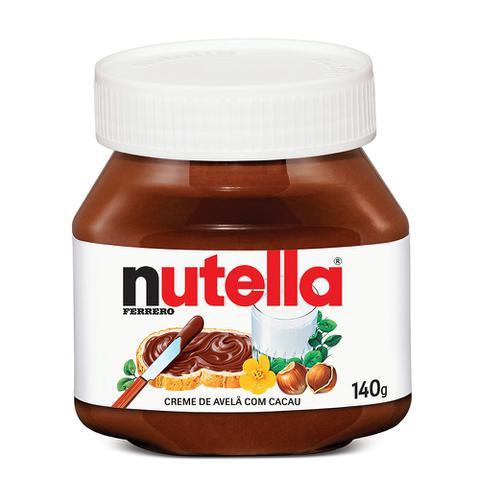 Imagem de Creme de Avelã Nutella 140g - Ferrero