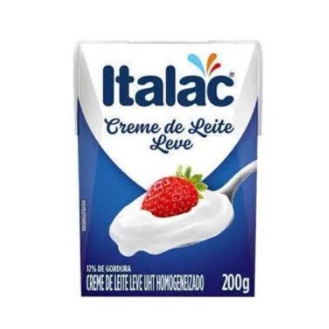 Imagem de Creme de leite Italac 200 Gr - 03 unidades