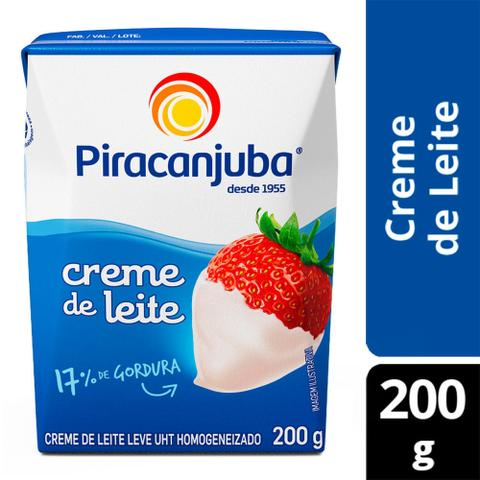 Imagem de Creme de leite Piracanjuba 200g