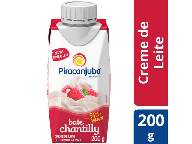 Imagem de Creme de Leite Piracanjuba Bate Chantilly 200g