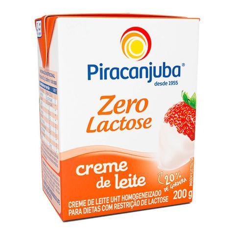 Imagem de Creme de Leite Zero Lactose 200g - Piracanjuba